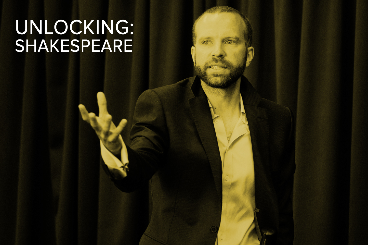 Unlocking:Shakespeare – an introduction for actors