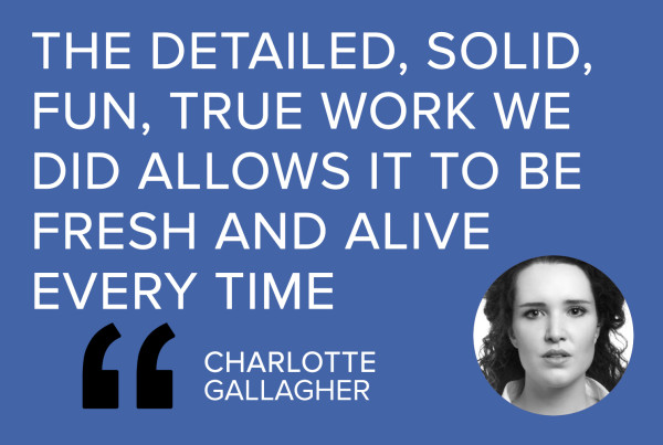 casting Shakespeare CHARLOTTE GALLAGHER