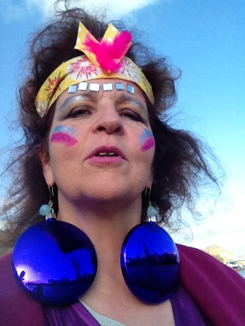 'Your Third Eye is safe with me': Geraldine at Pirate Radio Party