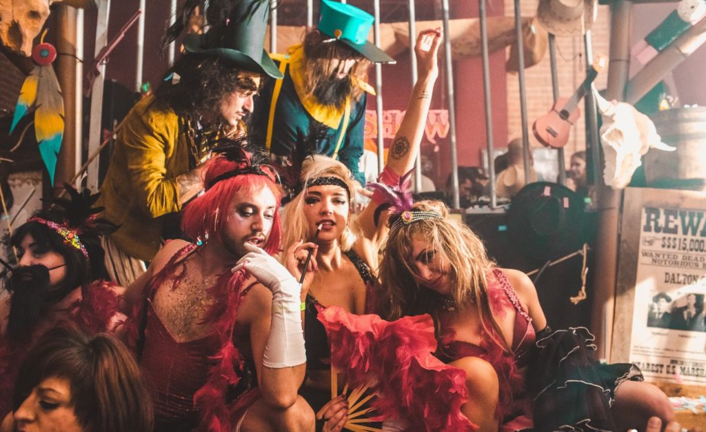 Elrow is one of the salon's latest partners. They need strong, playful character actors